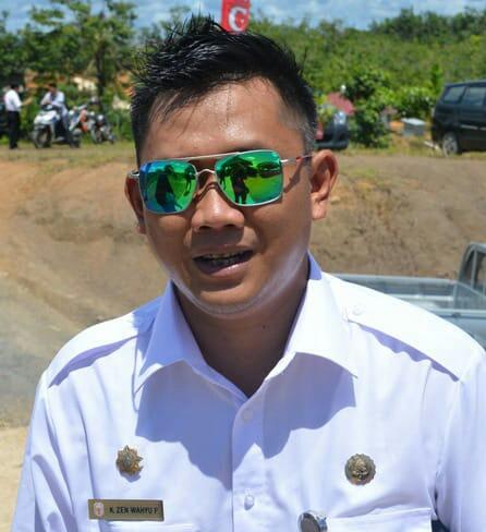 Camat Murung K Zen Wahyu Priyatna.