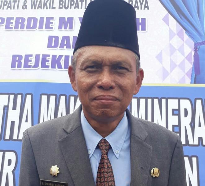 Kepala Disnakertrans Kabupaten Mura, H. Syarial Pasaribu S,Sos