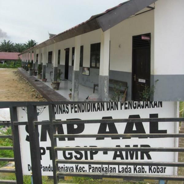 Salah satu sekolah SMP binan PT GSIP-AMR anak Group PT Astra.