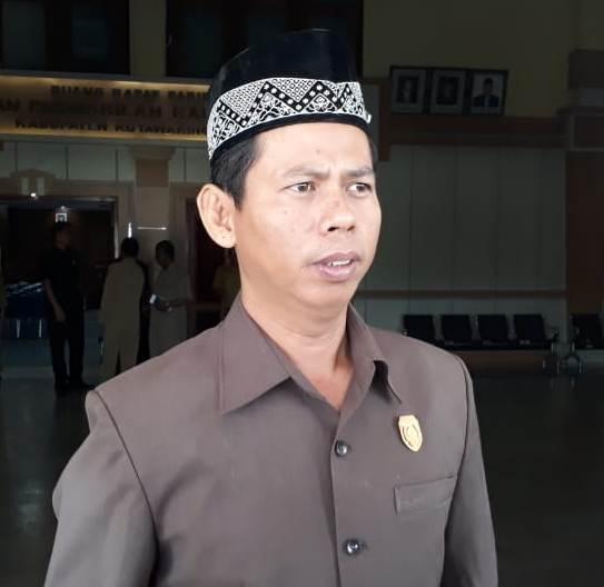 Ketua DPRD Kobar Triyanto.