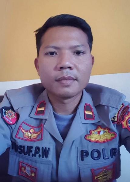 Kapolsek Sebangau Ipda Yusup Priyo