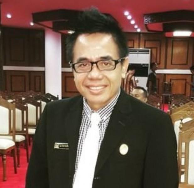 Anggota DPRD Kota Palangka Raya Alfian Batnakanti.