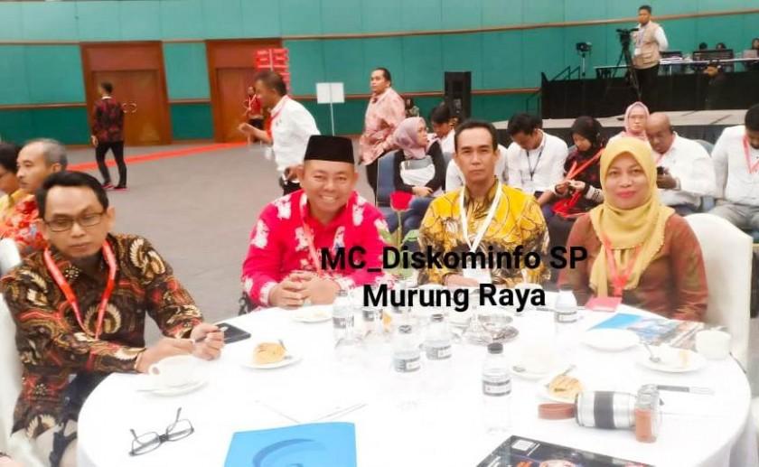 IST Diskominfo Mura - Kadiskominfo Mura saat menghadiri pameran bersama jajarannya, Kamis (18/7/2019).