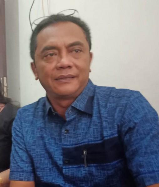 Ketua DPRD Kota Palangka Raya Sigit K Yunianto saat memberikan keterangan kepada awak media, Senin (29/7/2019).