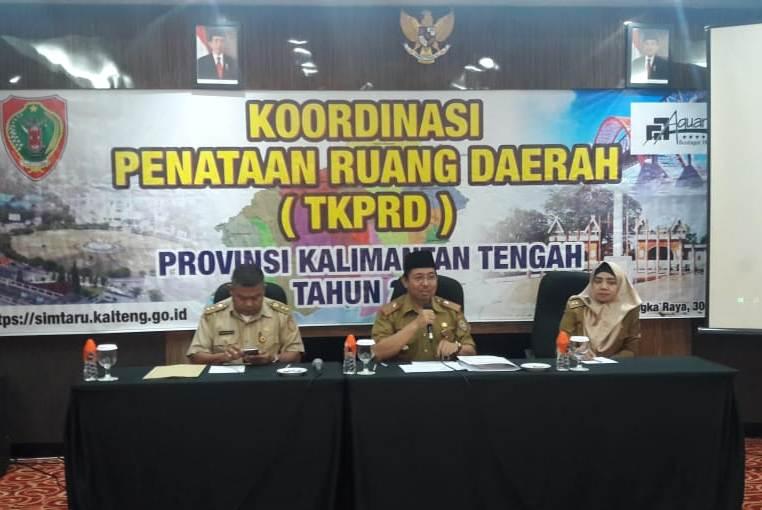 Plt. Asisten III Bidang Administrasi Umum, Kaspinor saat membuka kegiatan Rapat TKPRD, Selasa (30/7/2019).