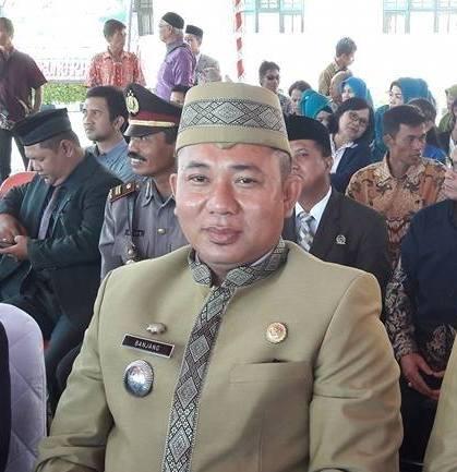 Camat Murung Banjang Jalin saat menghadiri kegiatan belum lama ini.
