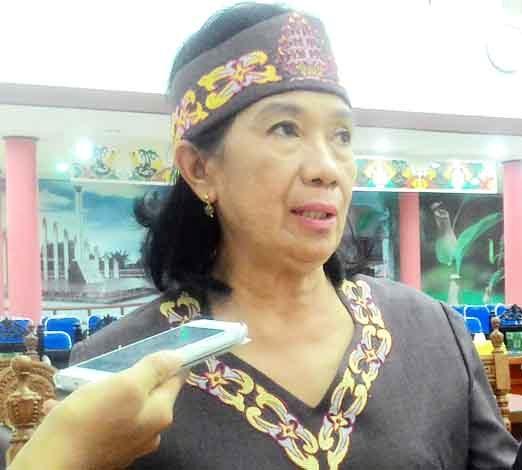 Anggota DPRD Kota Palangka Raya Anna Agustina