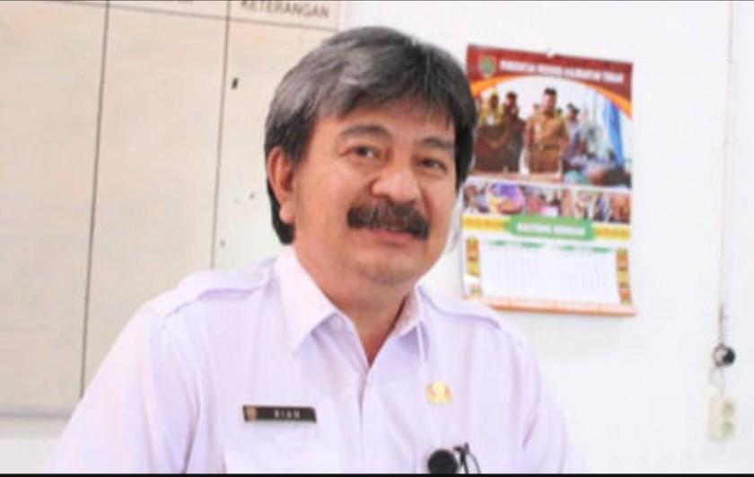 Kepala Dinas P3APPKB Provinsi Kalteng, dr. Rian Tangkudung Jumat (2/8/2019).
