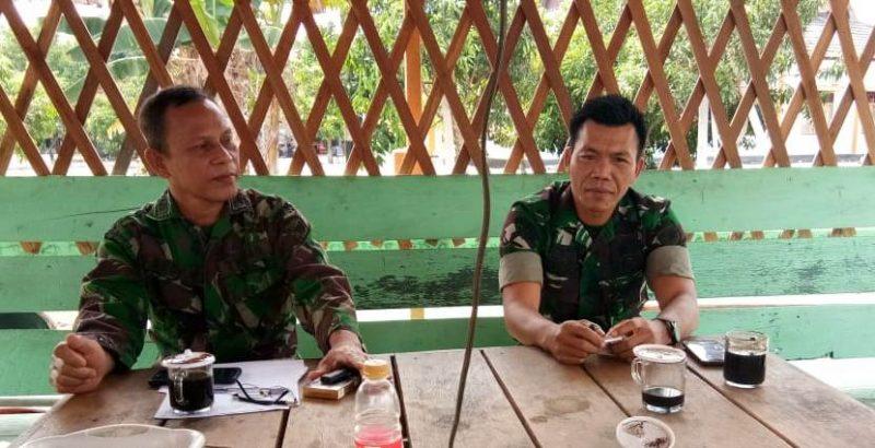 Serka Suparto saat memberikan keterangan kepada awak media Kamis (8/8/2019).