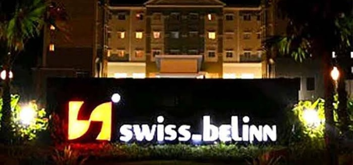 Hotel Swissbelinn Pangkalan Bun.