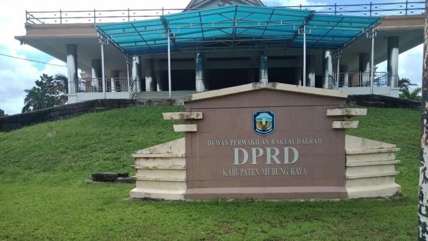 Kantor DPRD Murung Raya.