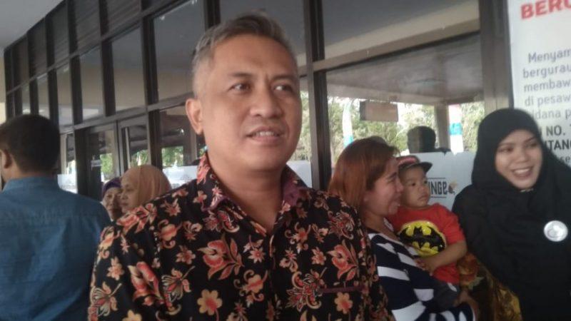 Anggota DPRD Kobar Erry Eryansyah saat memberikan keterangan kepada wartawan Kalteng Ekspres.com Jumat (13/9/2019).