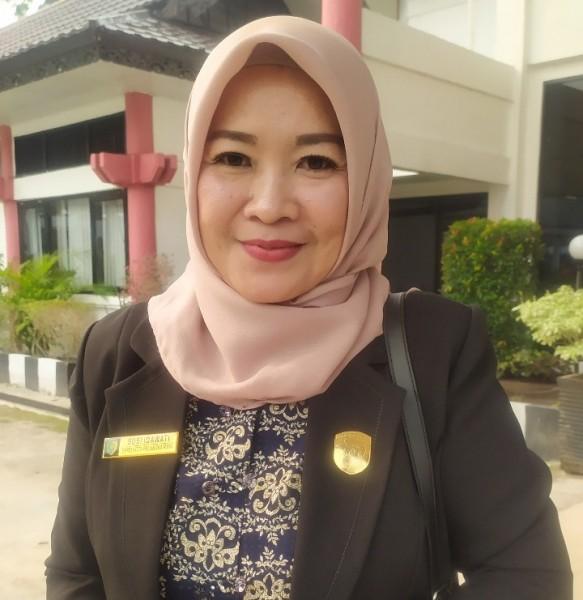 Anggota DPRD Palangka Raya Susi Idawati