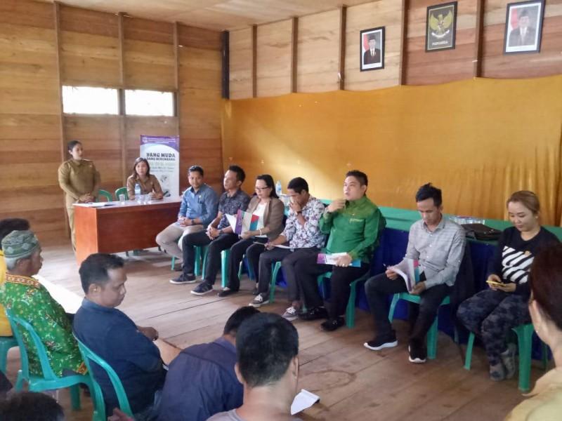 Anggota DPRD Mura  ketika reses di Kecamatan Murung Rabu (9/10/2019).