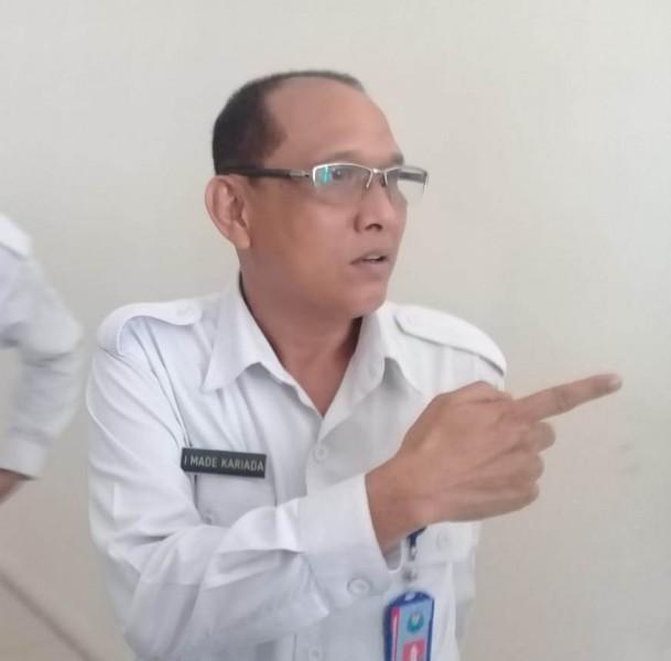 Kabid Pemberantasan BNNP Kalimantan Tengah AKBP I Made Kariada saat menjelaskan kepada awak media, Senin (14/10/2019).