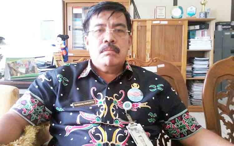 Kepala BKPP Katingan Bambang Harianto