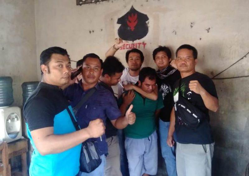 Tim gabungan saat menangkap pelaku Rabu (23/10/2019).
