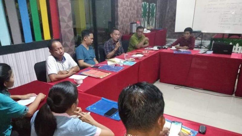 Wakil Ketua II DPRD Mura Rahmanto Muhidin saat memberikan materi ketika menjadi narasumber Kamis (31/10/2019).