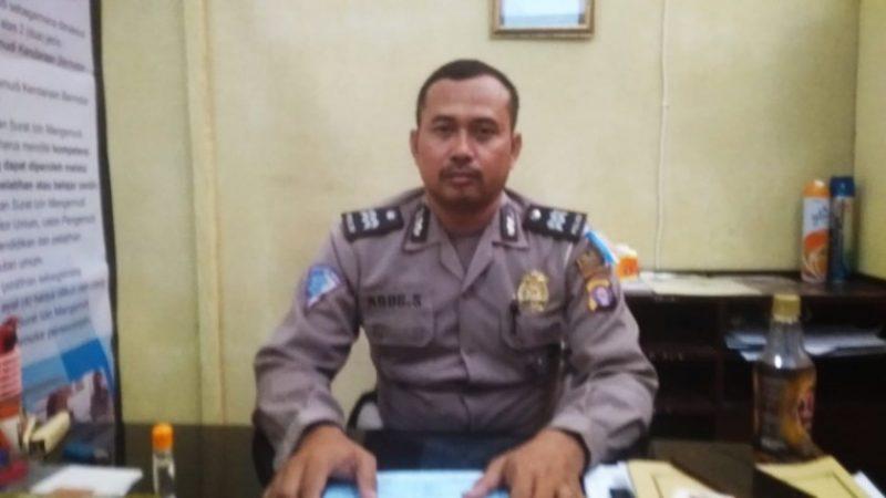 Baur SIM Satlantas Polres Kobar Aiptu Agus Susanto,saat memberikan keterangan kepada Kalteng Ekspres.com Kamis (31/10/2019).