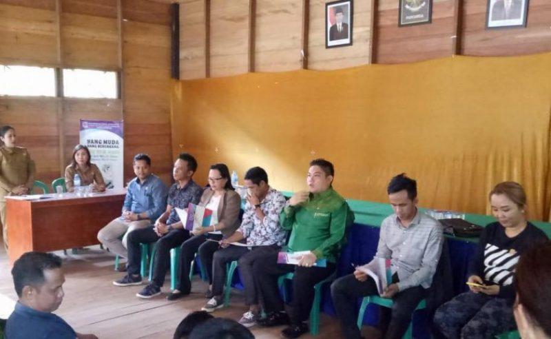 Anggota DPRD Mura saat reses di Kecamatan Murung Rabu (9/10/2019).