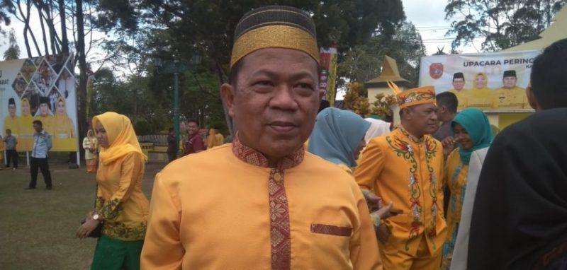 Direktur RSUD Imanuddin Fachrudin saat memberikan keterangan kepada awak media.