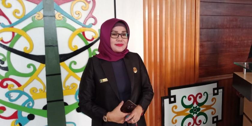 Anggota DPRD Kota Palangka Raya Ruselita.