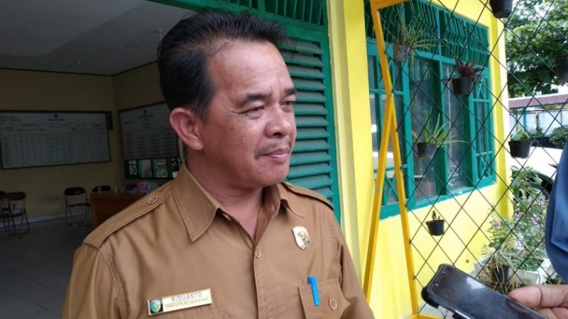 Anggota DPRD Kota Palangka Raya Riduanto saat memberikan keterangan kepada awak media Kamis (14/11/2019).