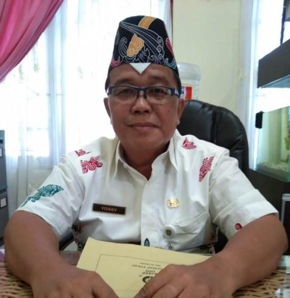 Kepala dinas pertanian (Distan) Kabupaten Katingan, Yossy.
