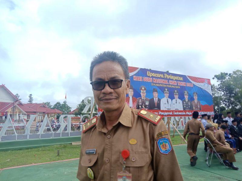 Kepala BKPSDM Mura, Yance P. Sirenden