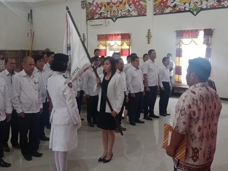 Sekcam Murung Tenny Puspita saat dilantik, Selasa (26/11/2019).