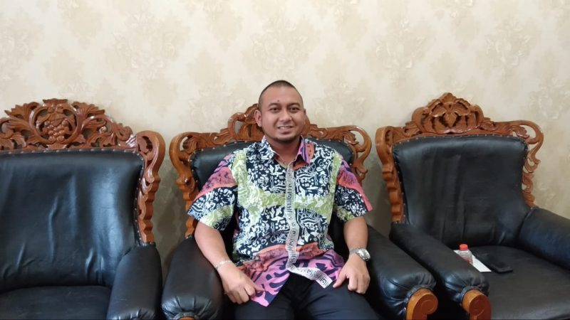 Wakil Ketua I DPRD Kota Palangka Raya Wahid Yusuf.
