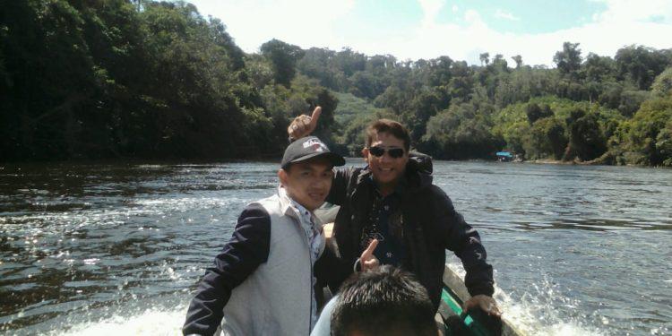 Anggota Komisi I DPRD Mura Rahmat Hidayat saat reses ke daerah pelosok baru-baru ini.