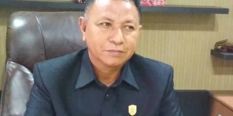 Wakil Ketua I DPRD Kabupaten Kotim H. Rudianur.