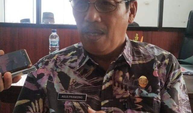 Kepala Badan Kesbangpol Kalteng Agus Pramono.
