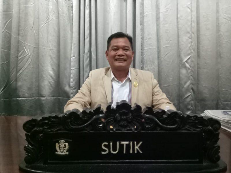 Anggota DPRD Kotim Sutik.