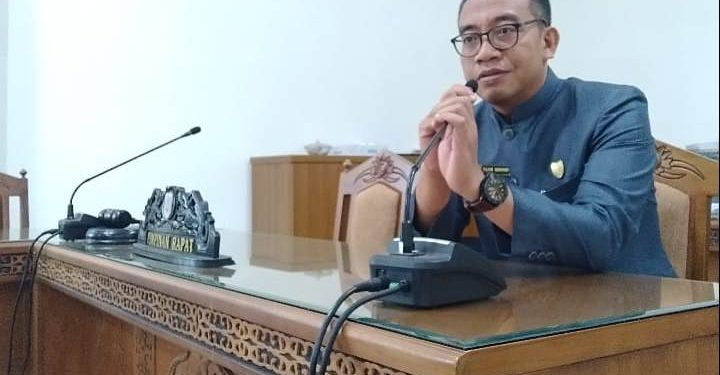 Anggota DPRD Kalteng Fajar Hariadi.
