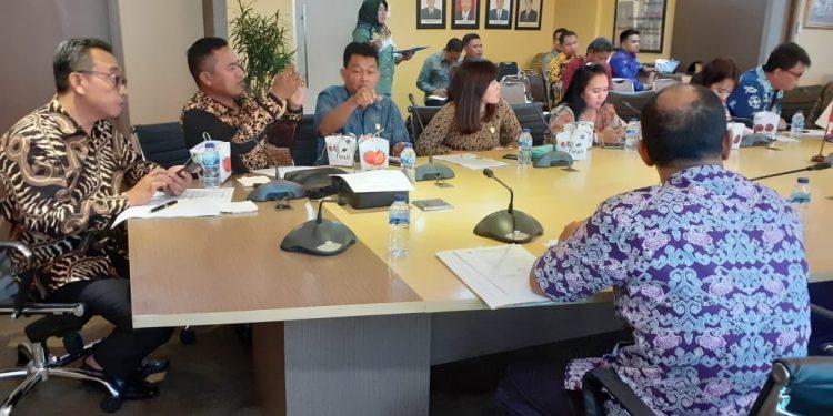 Rombongan Komisi II DPRD Kalteng saat menggelar kunker ke Kemendag RI Sabtu (22/2/2020).