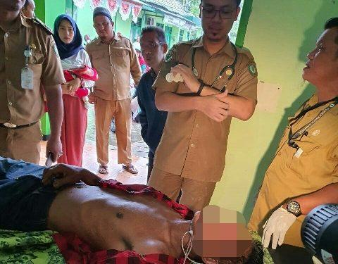 Jasad korban saat dievakuasi Senin (24/2) lalu.