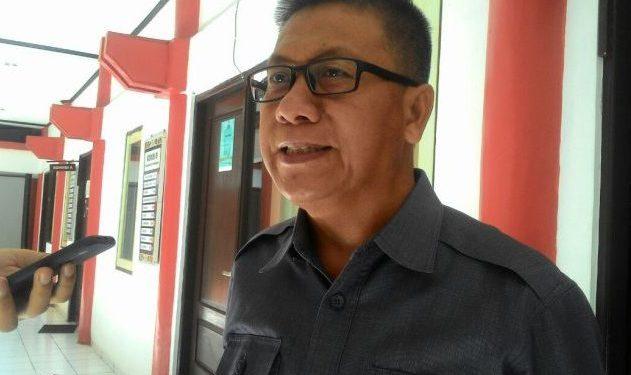 Anggota DPRD Kota Palangka Raya Subandi saat memberikan keterangan kepada awak media.