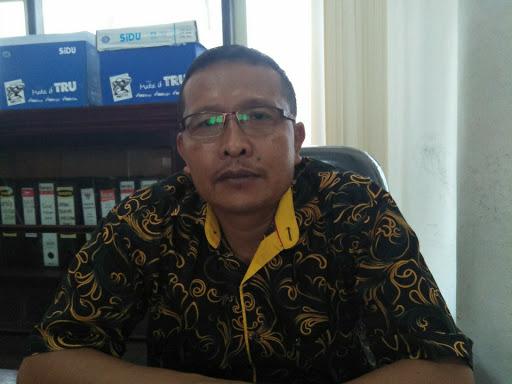 Anggota Komisi B DPRD Kota Palangka Raya Heri Purwanto.