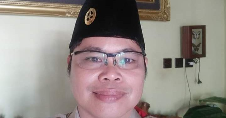 Kepala Sekretariat Gugus Tugas Percepatan Penanganan Covid-19 Kabupaten Katingan, Eka SuryadilagaSP.MM. Foto : MI,