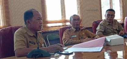 Dirut RSUD Sultan Imanudin Pangkalan Bun, dr Fachrudin. Foto : yus