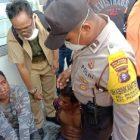 Dua pencuri yang gagal beraksi ditangkap warga Palangka Raya, Senin (30/3/2020). Foto : am