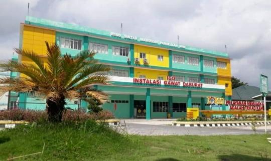 Rumah Sakit Sultan Imanudin Pangkalan Bun merupakan salah satu rumah sakit rujuan Pasien Covid-19. Foto : Yus