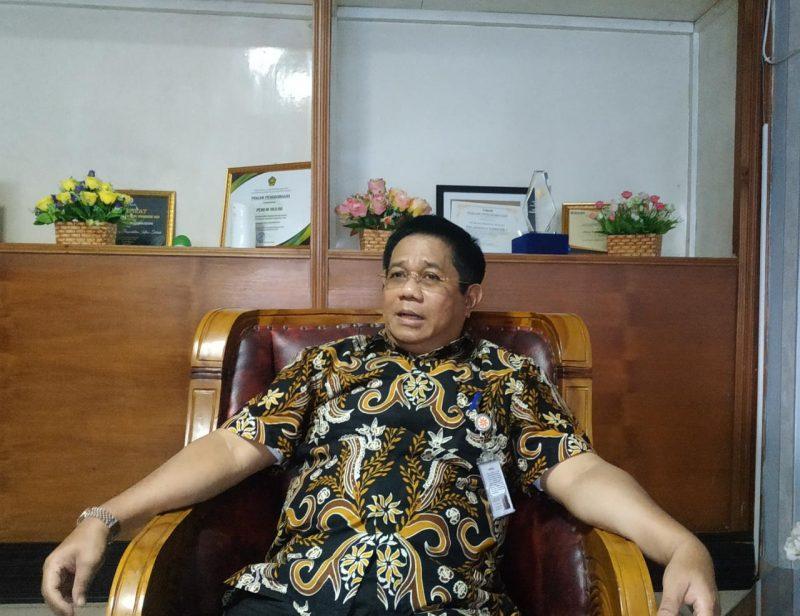 Kepala Divisi Regional Bulog Kalteng, Mika Ramba. Foto : ra