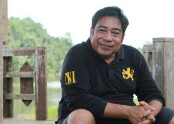 Kepala Desa Samba Bakumpai, Abdul Halim. Foto : MI