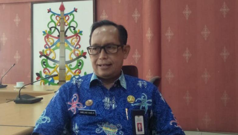 Kepala Dinas Kesehatan Kota Palangka Raya drg Andjar Hari Purnomo. Foto : Ra