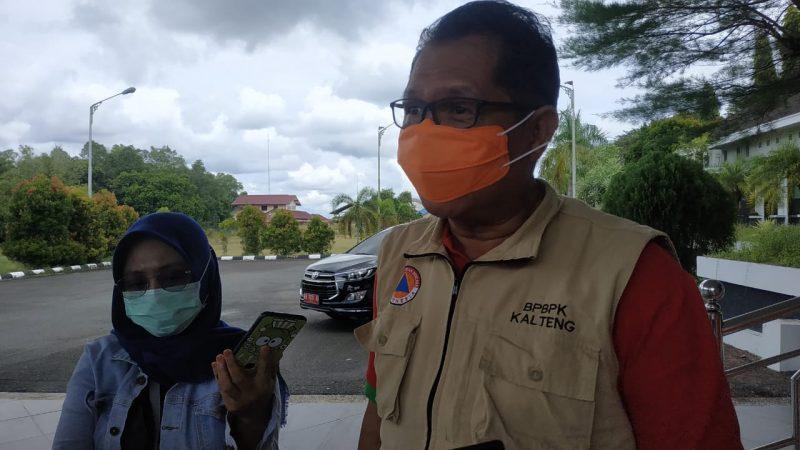 Ketua Harian Tim Gugus Tugas Percepatan Penanganan Covid-19 Kalteng Darliansyah. Foto : Ra