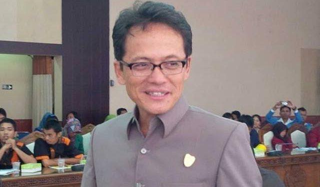 Ketua Fraksi PDIP DPRD Kalteng Yohannes Freddy Ering.
