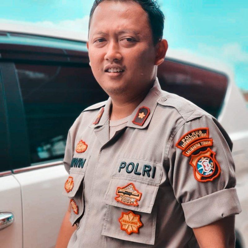 Kapolsek Ketapang  Kompol Wiwin Junianto.